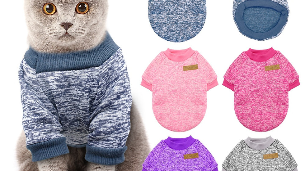 Warm Cat Sweater