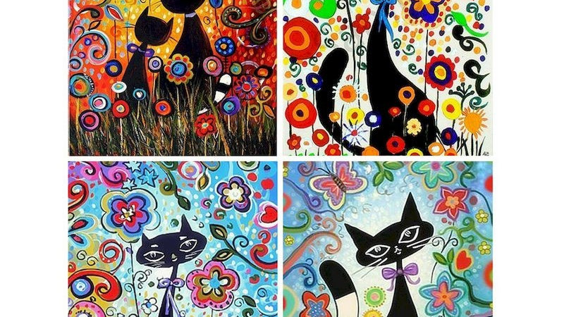 Cats Painting by Number