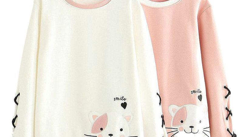 Women's Cat Hoodies