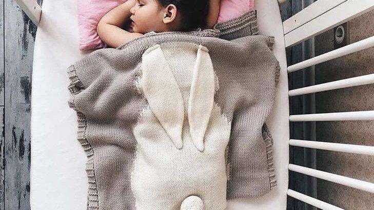 70x108cm Cute Bunny Blankets