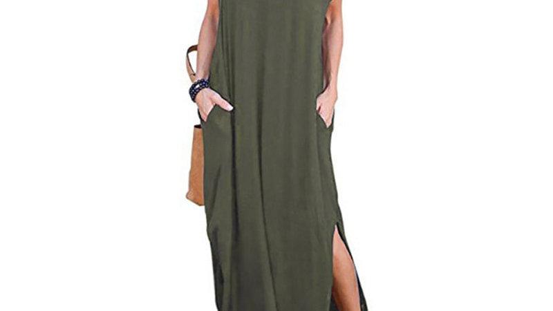 Asymmetrical casual Summer Dress