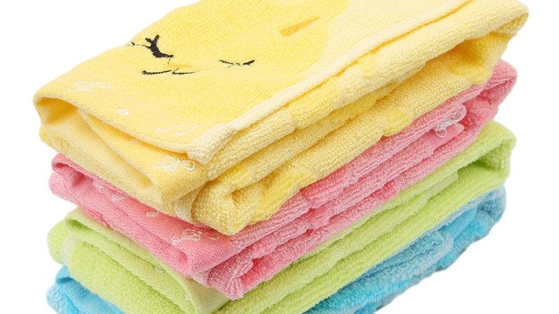 Cartoon Cat Design Towel