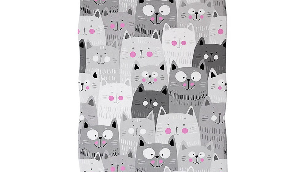Funny Kitten Bathroom Towels