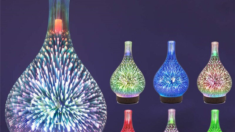 7 Colour Essential Oil Humidifiers