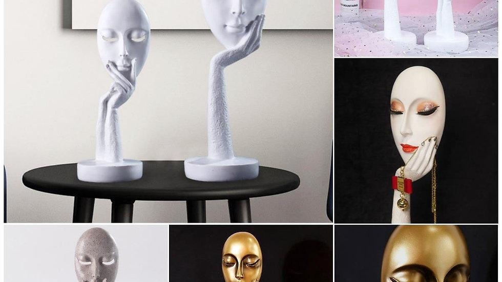 Face  Mask Sculpture