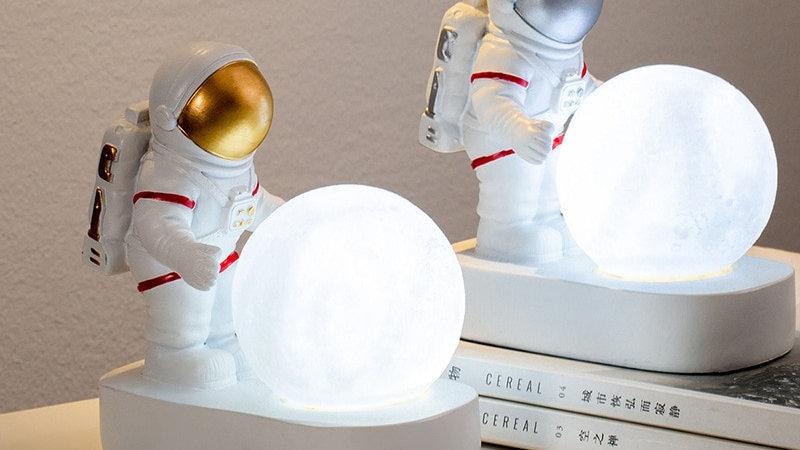 Astronaut & Moon Night Lamps