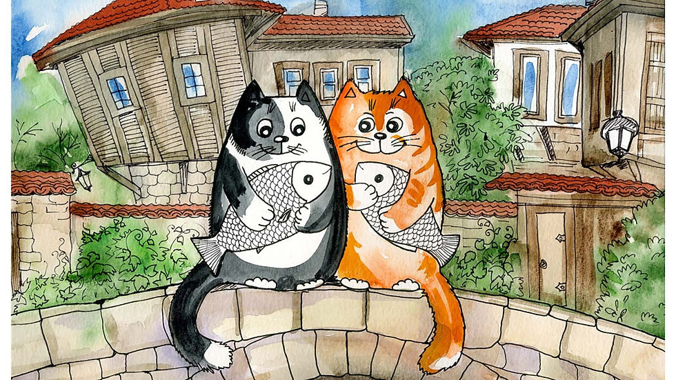 100 Piece Cartoon Animals Puzzle