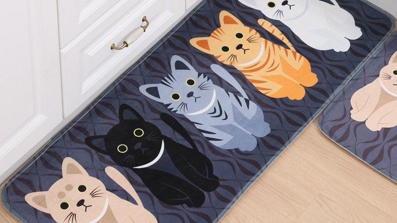 Welcome Floor Cat Mats