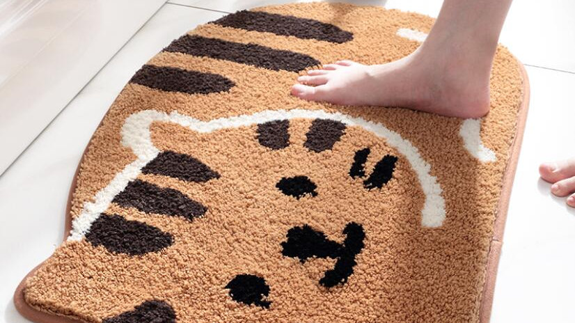 Cute Cat Bathroom Mat