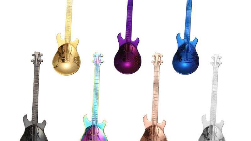 Guitar Shaped  Spoon