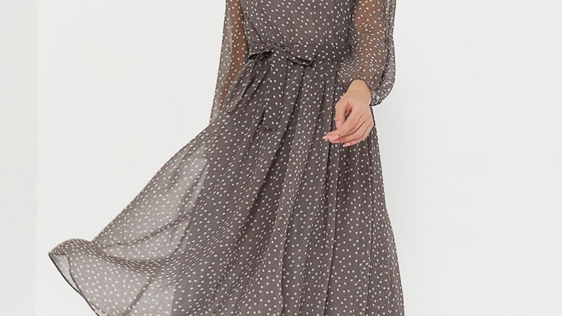 Dot Print Summer Dress