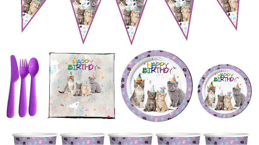 Kitten Theme Party Decorations
