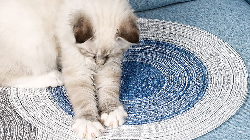 Cotton Thread Cat Scratcher