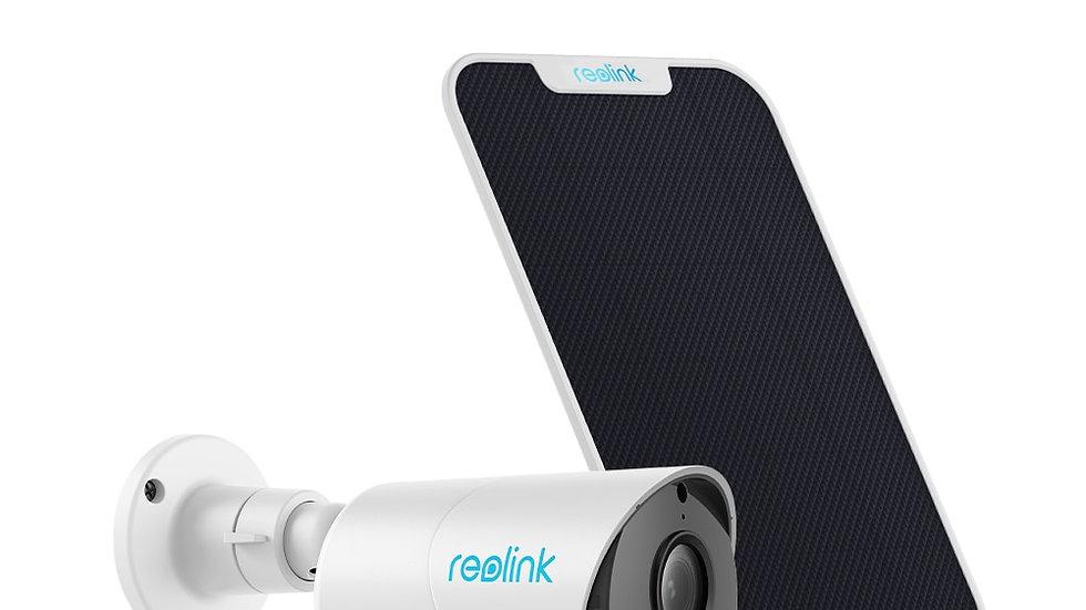 Reolink Argus Eco+Solar Panel Outdoor Security Home Surveillance Camera
