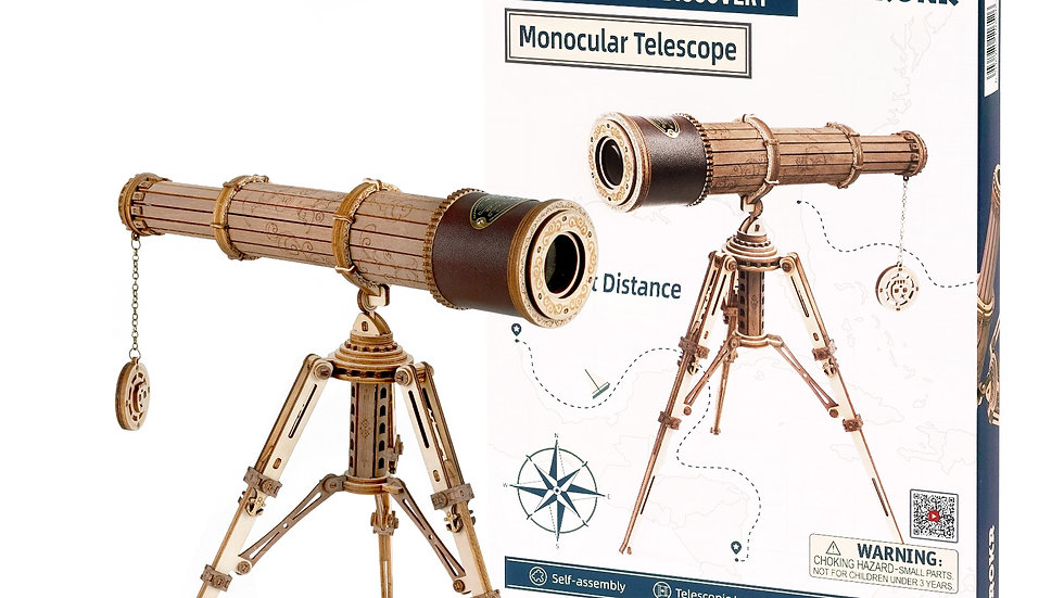 DIY Wooden Telescope Kit