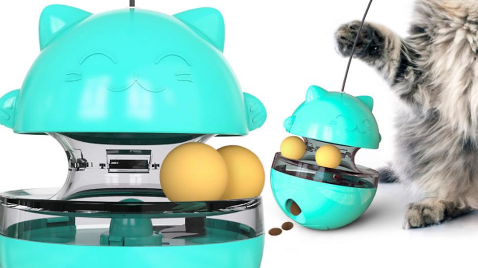 Cat Toy Interactive Tumbler