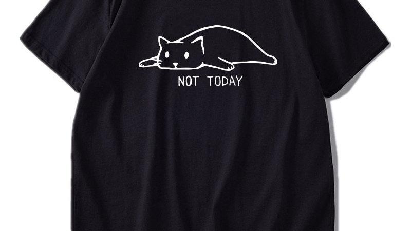 Funny Men's Cat T-shirt