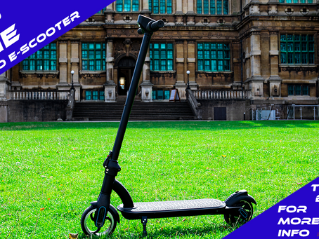 Win A Microgo E-Scooter! Our First Competition Giveaway