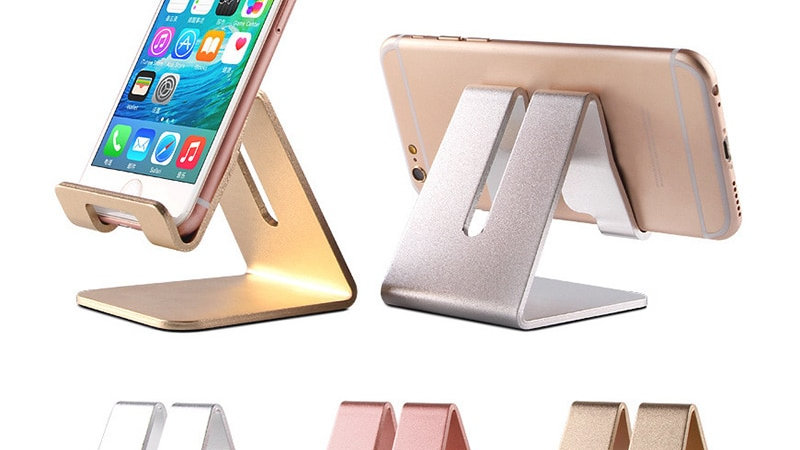 Aluminum Mobile Phone Holder Lazy Stand