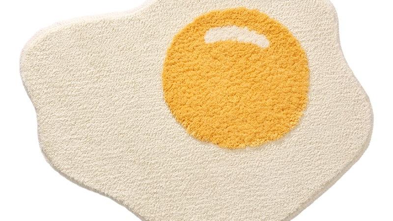 Quirky Egg Floor Mat