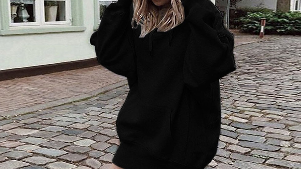 Long Sleeves Hooded Pullover