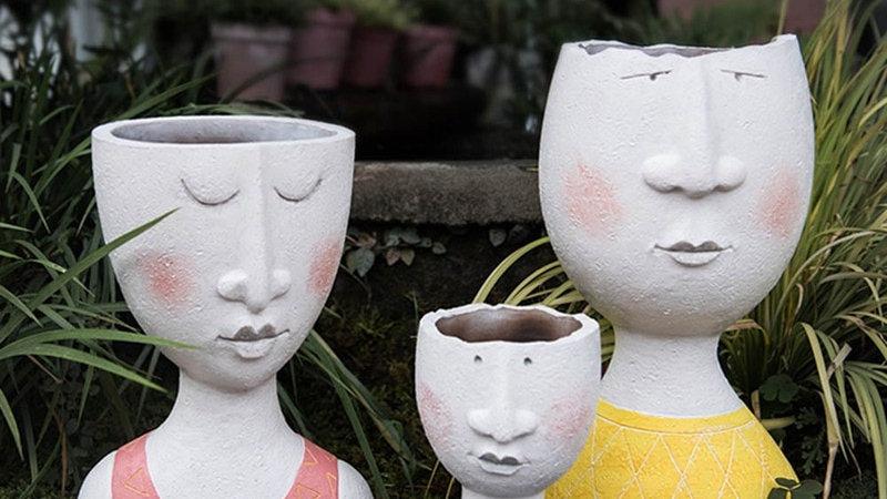 Portrait Flower Pot