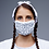 Thumbnail: White Pattern Face Mask