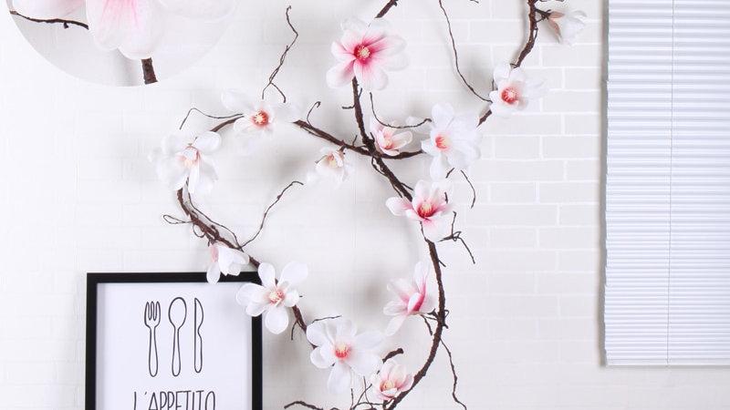 185cm Artificial Magnolia Vines