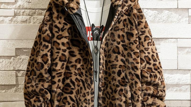 Men's Leopard Print Jacket