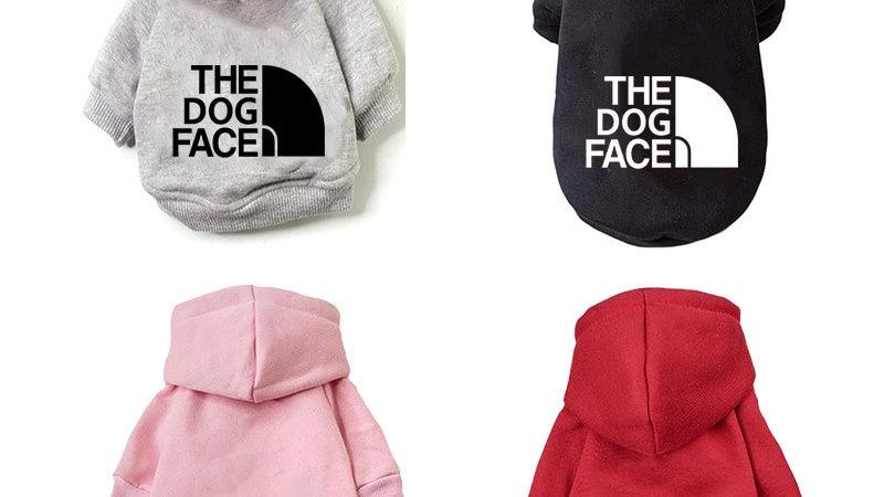 Fashionable Winter Dog Hoodie