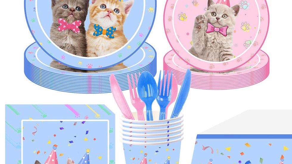 Birthday Party Kitty Supplies