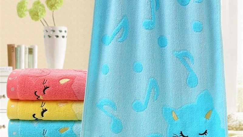 Bamboo Fiber Kids Towel