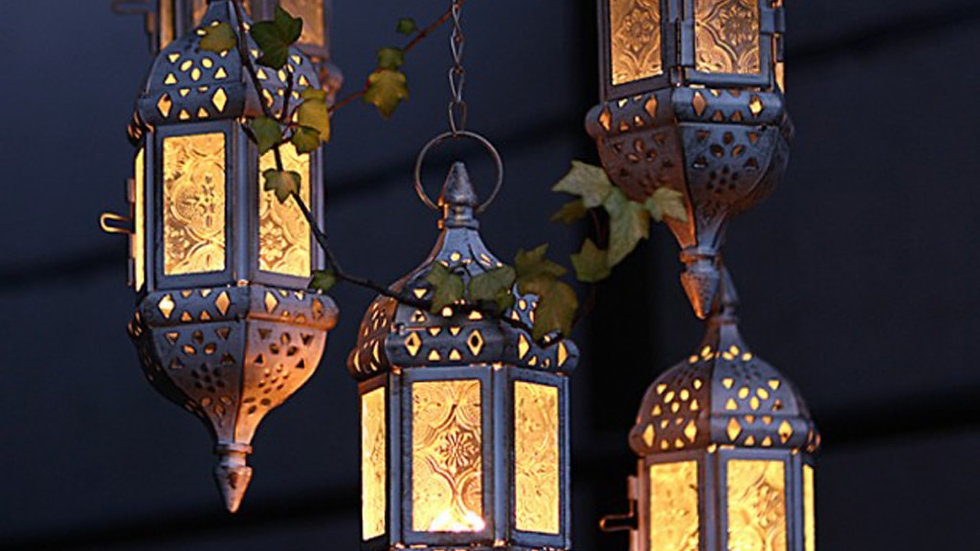 Classic Moroccan Candle Holders