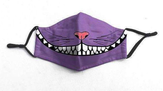 Cheshire Character Face-Mask