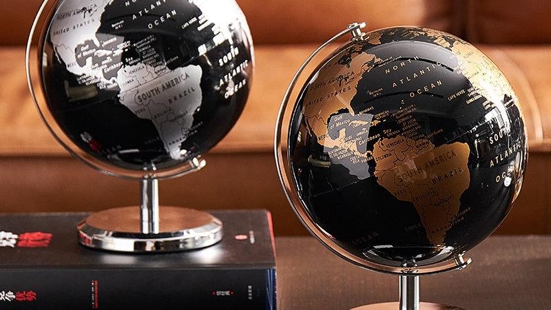 Desk World Globes