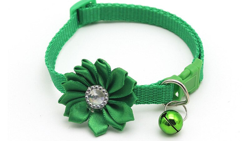 Pet Cat Flower Collar