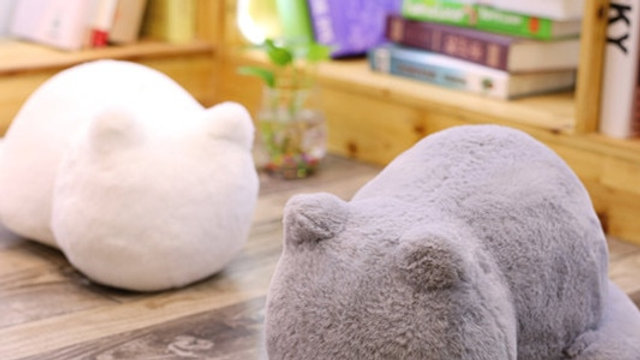 Cat Shaped Plush Cushions