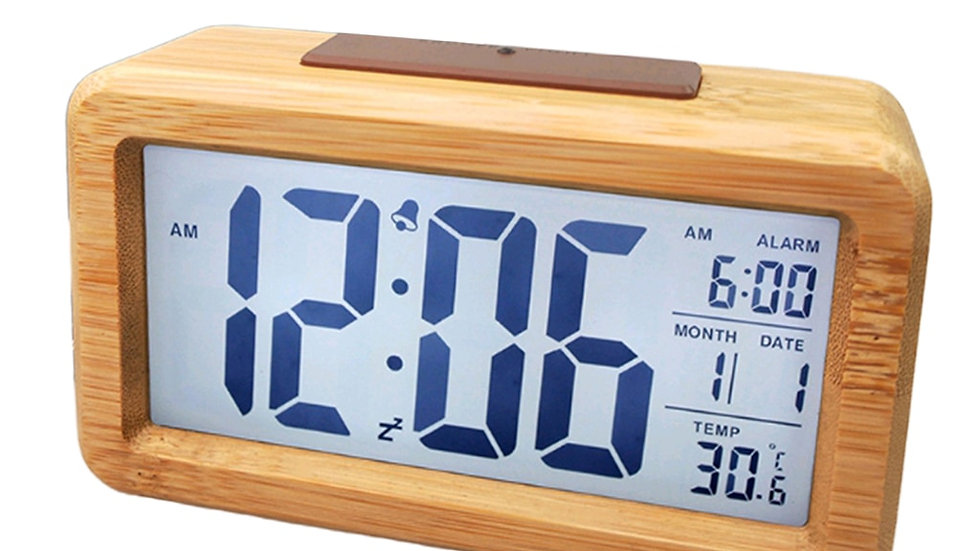 Wooden Smart Clock