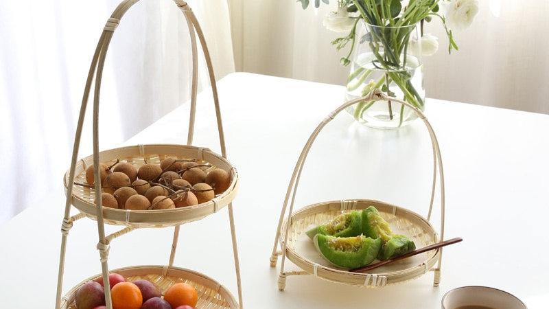 Bamboo Wicker Baskets