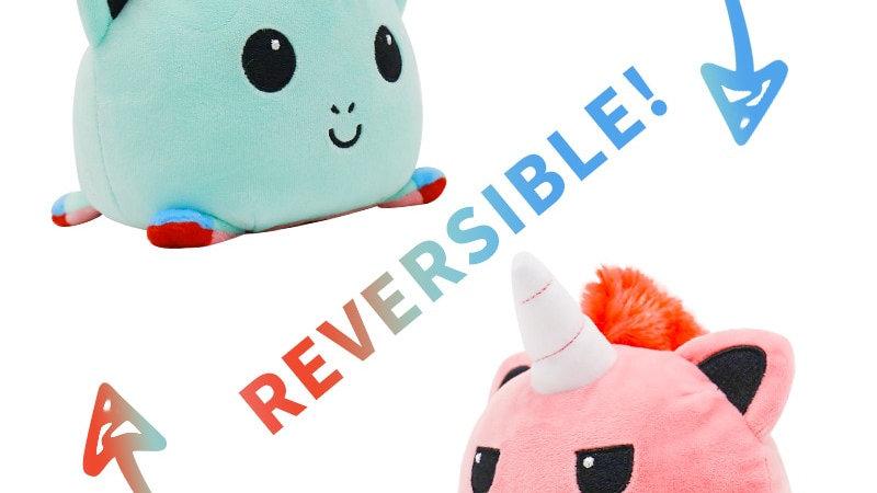 Reversible Plushie Toys
