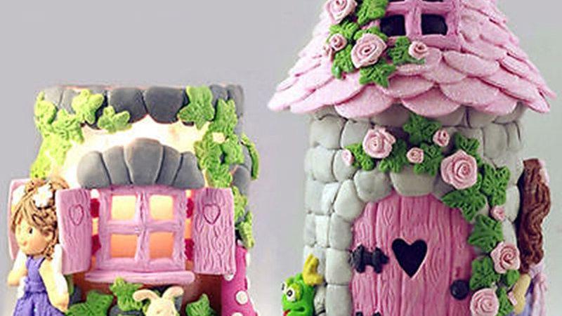 Fairy Garden House Cake Mould