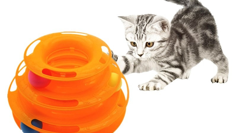 Three Levels Cat Tower Toy