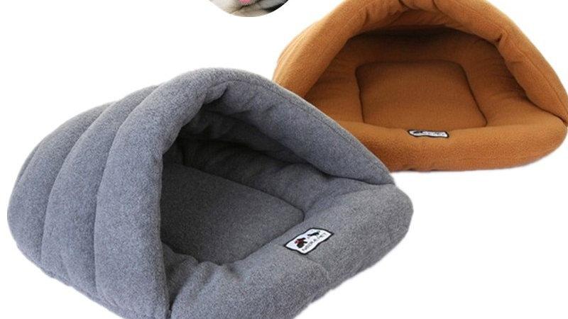 Fleece Pet Cave Bed