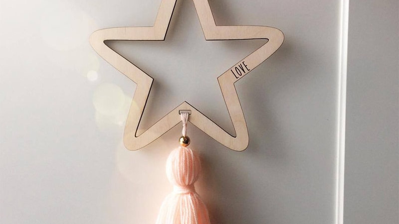 Pretty Star Wall Hangings