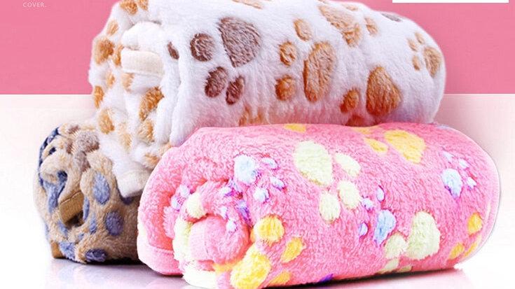 Coral Fleece Pet Blankets