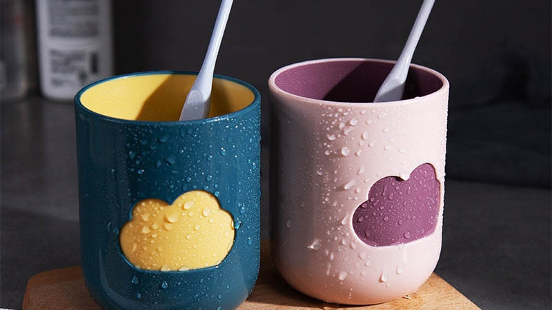 Cloud Toothbrush Cup