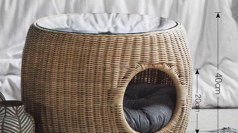 Rattan Cat Nest