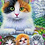 Thumbnail: Cat Colouring by Numbers