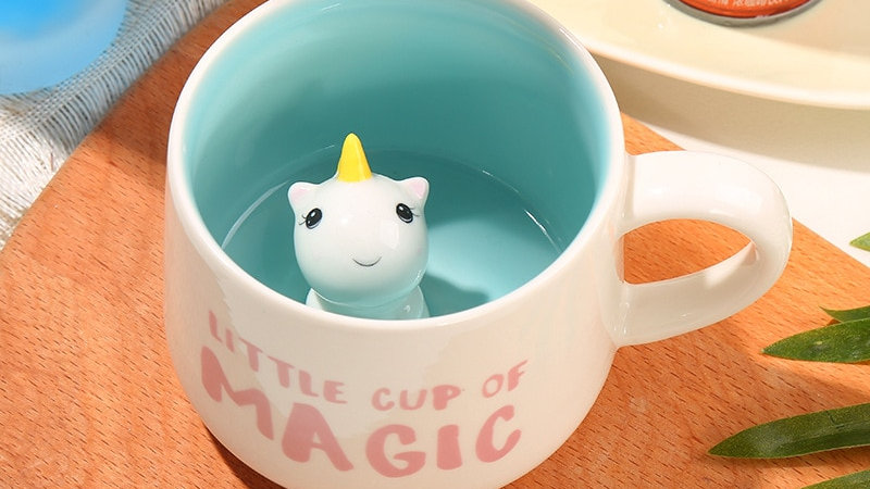 Cute Character Ceramic Mugs
