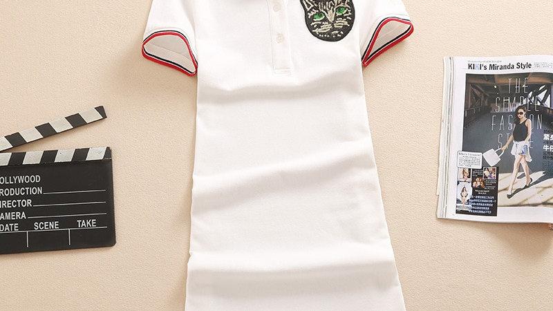 Polo Shirt Style Dress